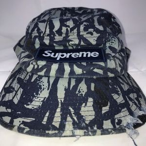 Vintage Supreme 5-Panel Camo Camp Hat